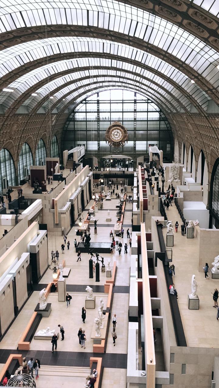 Mein Reisebericht und Tipps für Sehenswürdigkeiten in Paris, Frankreich, wie das Musée d'Orsay.