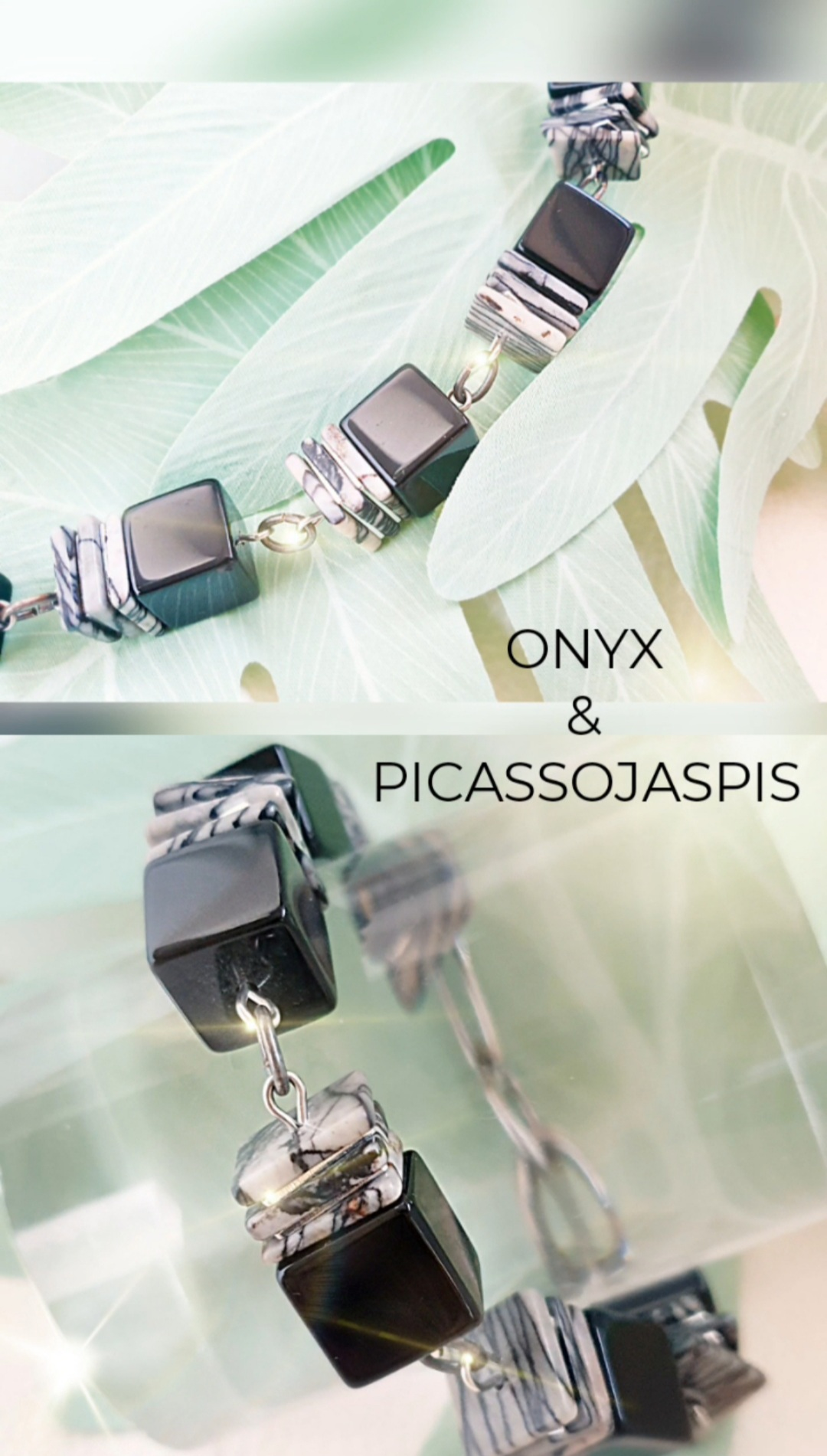 Onyx Schmuck Armband