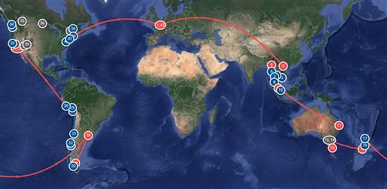 Notre voyage autour du monde ! - Site de dessine-moi-un