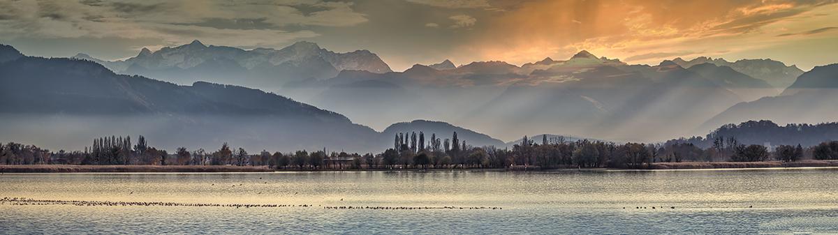 Früher Abend am Bodensee