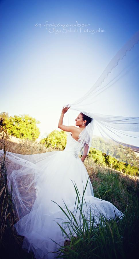 Braut, Brautkleid, Schleier, Brautpaarshooting, Hochzeitsreportage, Koblenz, Olga Schulz