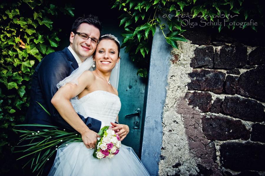Brautpaarshooting, Brautstrauß, Brautpaar, Hochzeitsreportage Koblenz, Fotograf Koblenz, Fotograf Olga Schulz