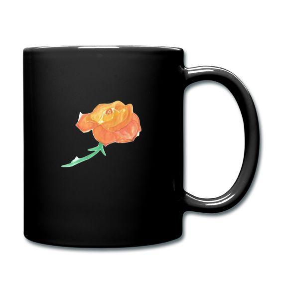 Keramiktasse 'Keine Rose ohne Dornen' im Online-Shop