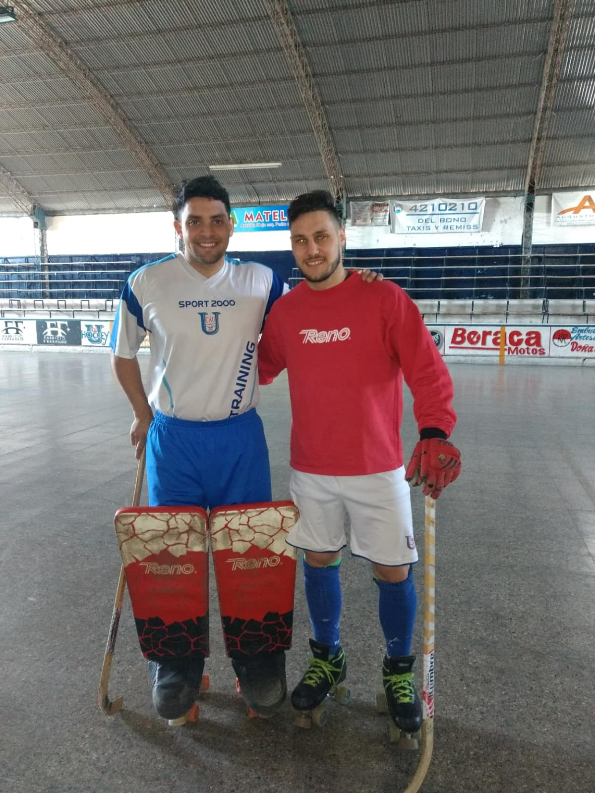 Roberto Soria y Facundo Almiñana