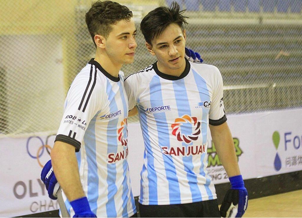"""El """"Facu"""", con la camiseta de la selección nacional Sub 20"""
