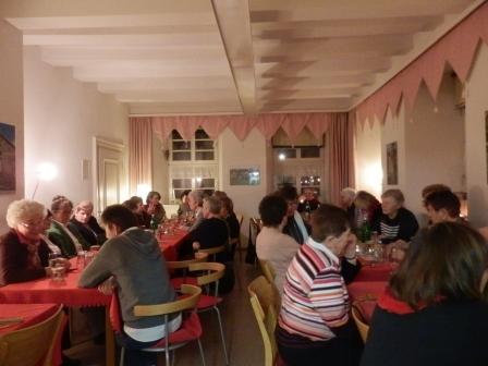 Weihnachtsfeier in der Alten Post..(Foto:D.Mathes)