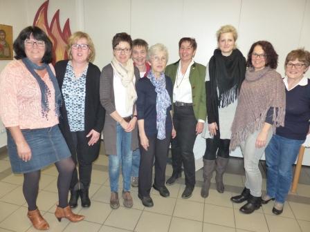 Neun Mitglieder gehören dem erweiterten Vorstand des Landfrauenverbandes Rönsahl an. (Foto:R.Crummenerl)