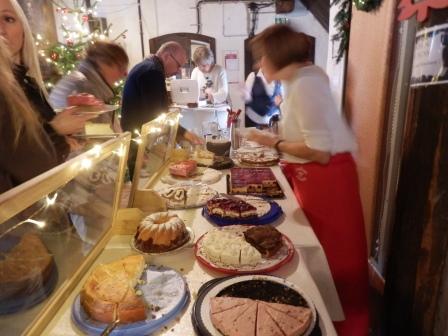 …das LandFrauen-Café ist geöffnet…(Foto: D.Mathes)