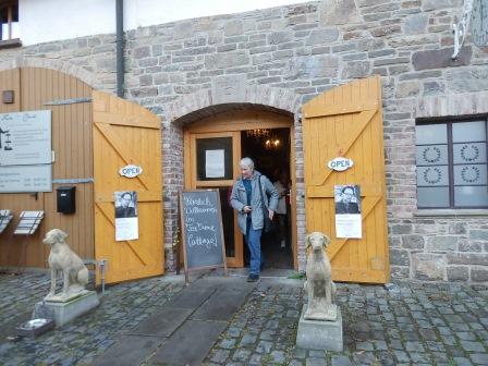 ...Tea Time Cottage an der Heesfelder Mühle (Foto:DM)