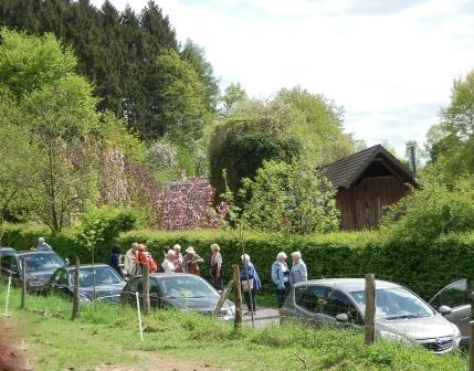 …Ankunft der Rönsahler LandFrauen…(Foto: D.Mathes)