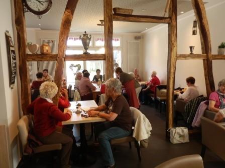 Im Café 1912 in Kreuzberg (Foto:D.Mathes)