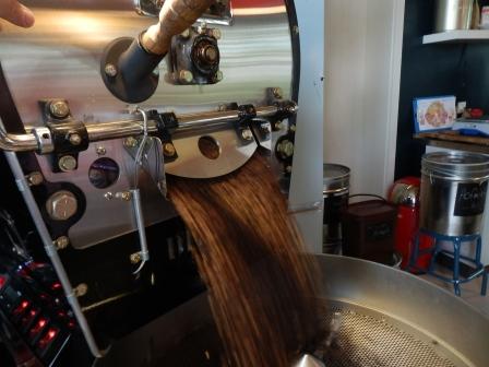 der geröstete Kaffee  (Foto:D.Mathes)