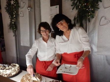 v. li. Anne Becker und Petra Raspe (Foto: D.Mathes)