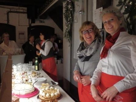 v. li. Martina Weiler und Yvonne Bettag (Foto: D.Mathes)