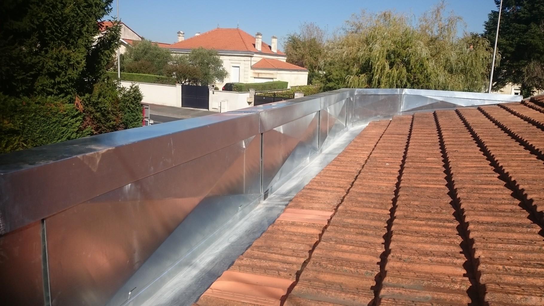 refection cheneau zinc toitures 33 bordeaux gironde. Black Bedroom Furniture Sets. Home Design Ideas