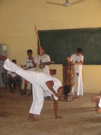 oficinas de capoeira