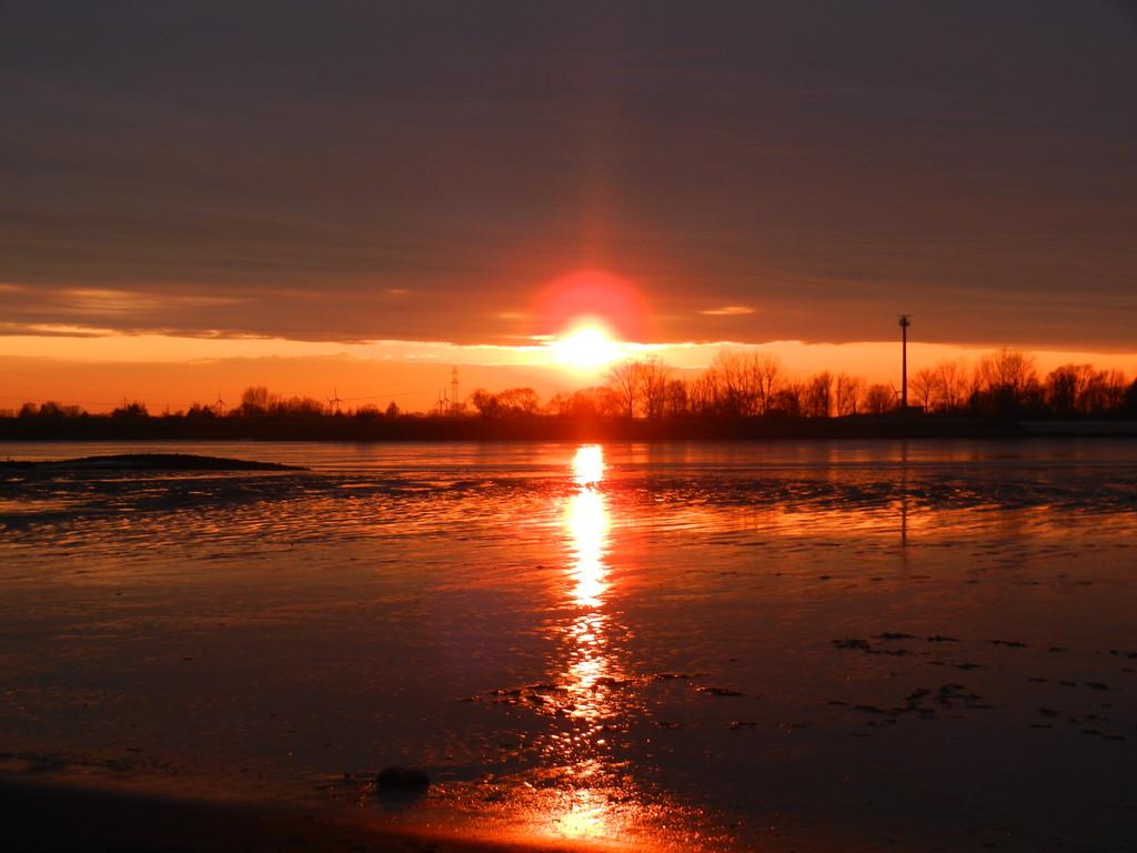 Ein toller Sonnenuntergang