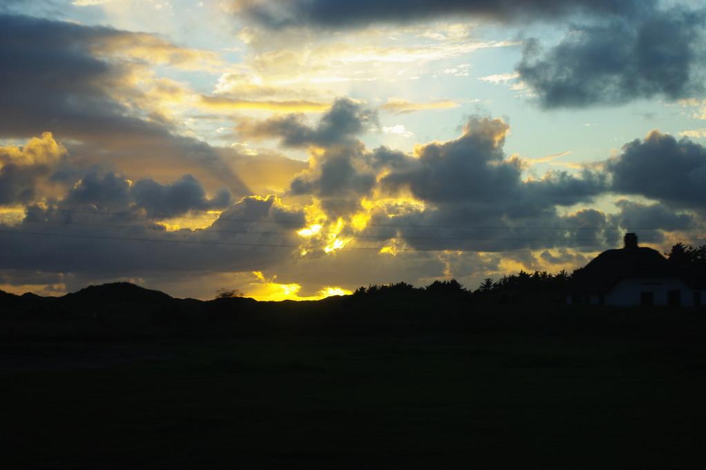 Was für ein toller Sonnenuntergang