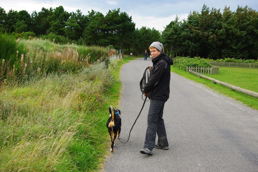 Unser letzter große Spaziergang...bevor es morgen nach Hause geht