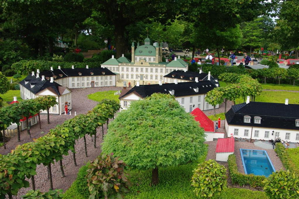 Heute haben wir das Legoland besucht...
