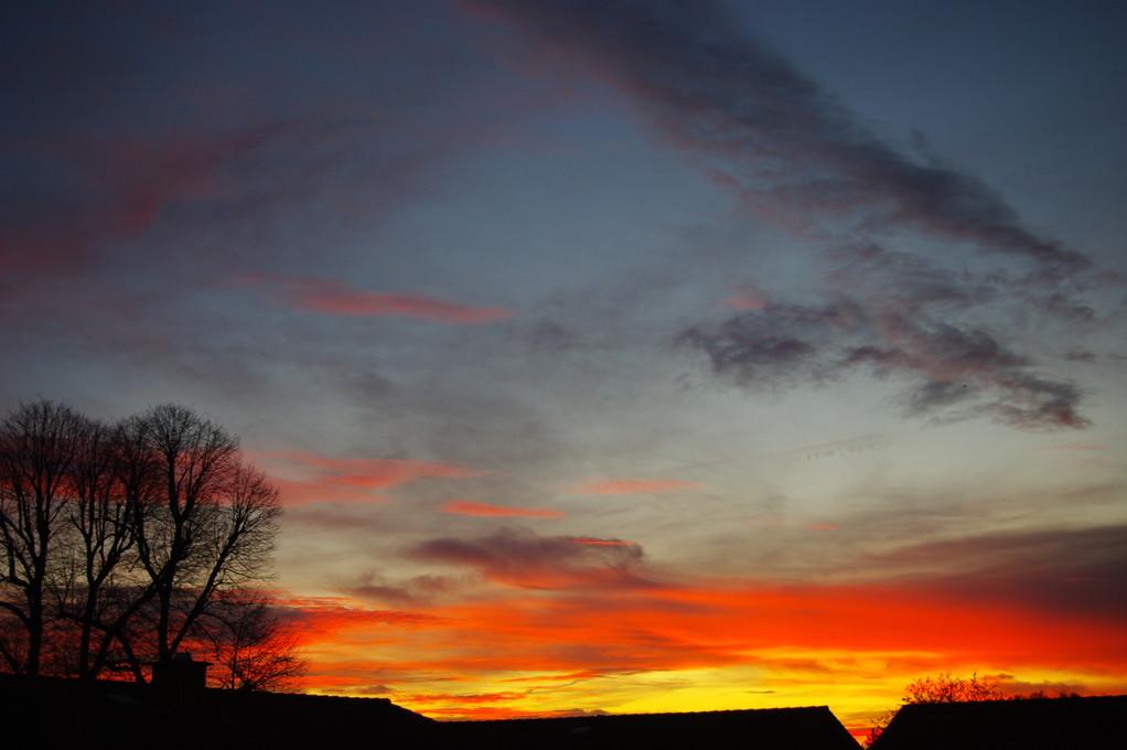 Was für ein toller Sonnenaufgang!!!