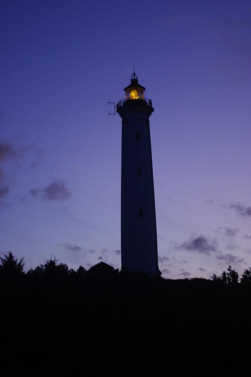 Und nun leuchtet auch der Leuchtturm