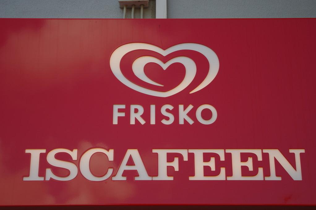 Guckt mal das Eiskaffee heißt so wie ich!!!!!!!
