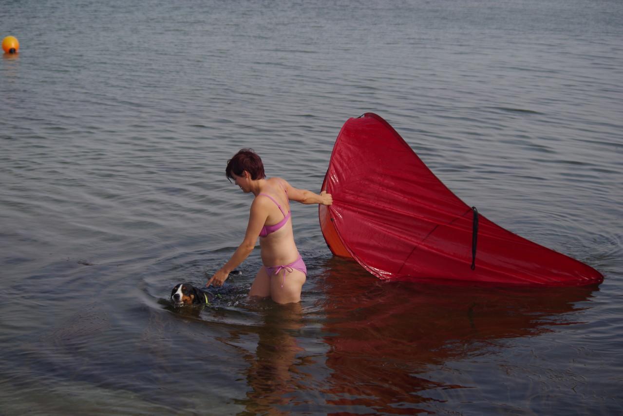 Bleibt doch wieder an Tascha und mir hängen, da jemand wohl angst vor Wasser hat ;-)