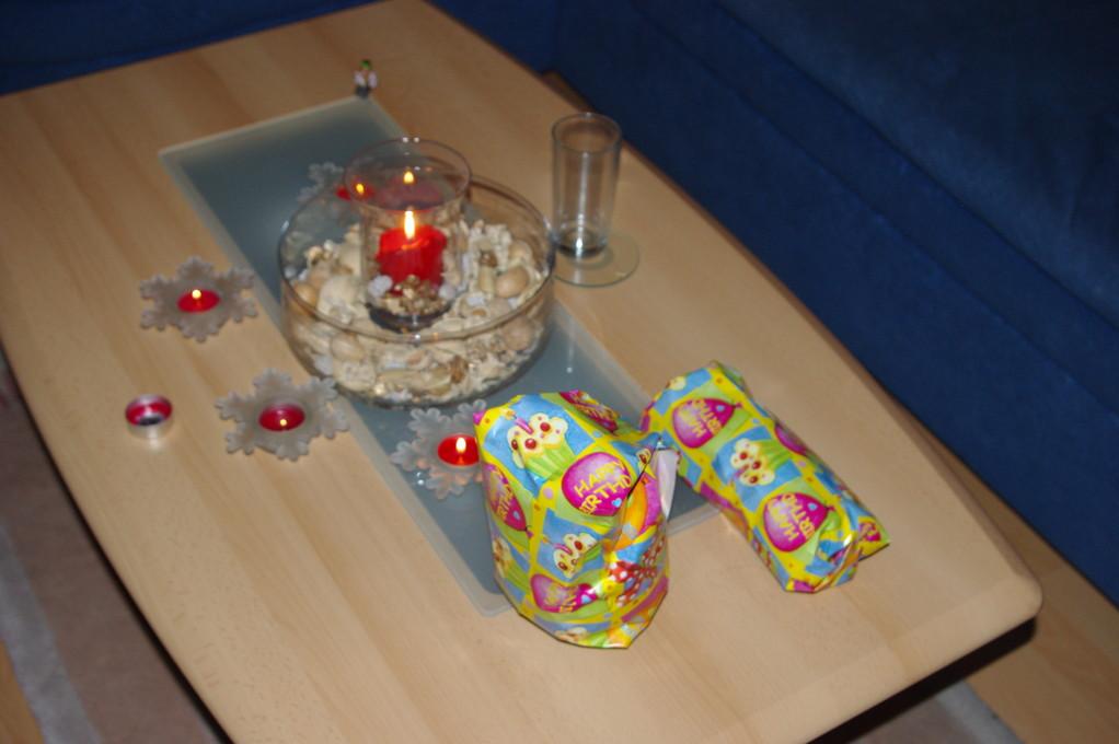 .....und meine Geschenke ;-)