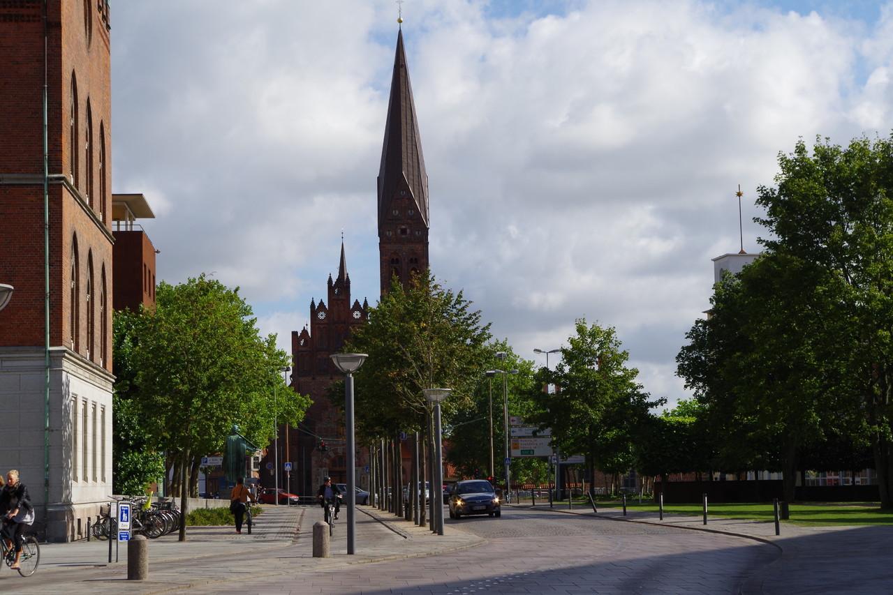 Wir haben uns die Altstadt in Odense angeguckt