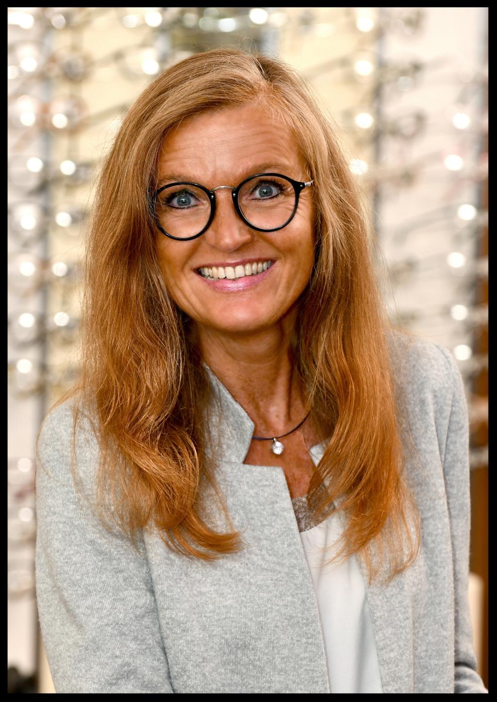 Gertrud Tölle, kaufmännische Leitung bei Augenoptik Tölle in Paderborn
