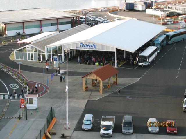 Koffer bei dem terminal