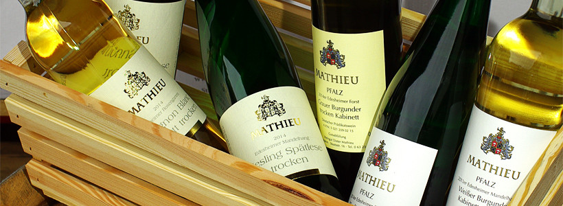 Weingut Mathieu in Edesheim