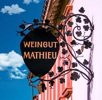 Weine vom Weingut Mathieu in Edesheim