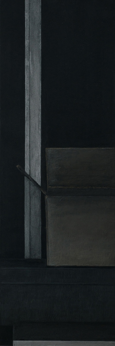 30,0 x 15,0 cm, Acryl u. Polychromos auf MDF, 2018