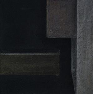 13,0 x 13,0 cm, Acryl u. polychromos auf MDF, 2018