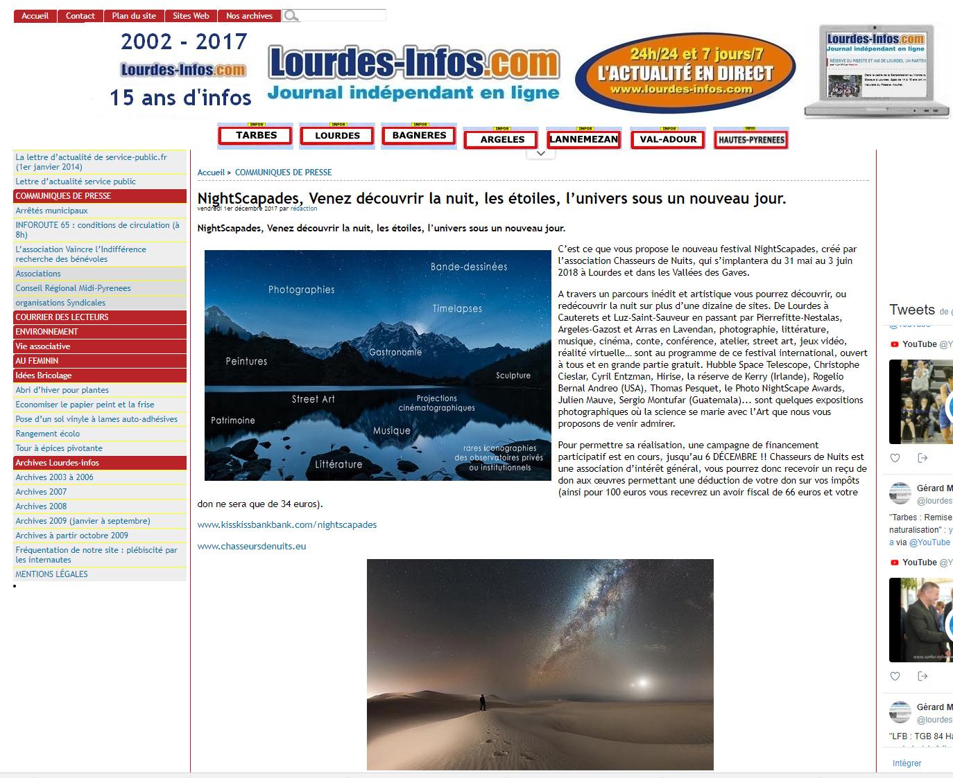 Lourdes Info