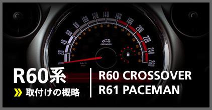 R60系(R60/R61):ゲージ取付け概略