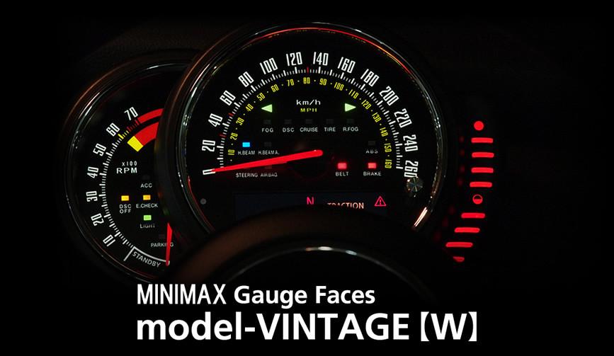F56 MINIMAX model-vintage(w)/mini f56 メーター 内装 パーツ