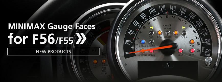 f56/f55専用 メーター 内装・インテリアパーツ