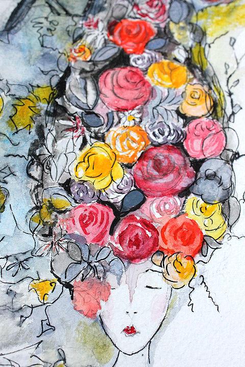 Peinture aquarelle Carole Paillé