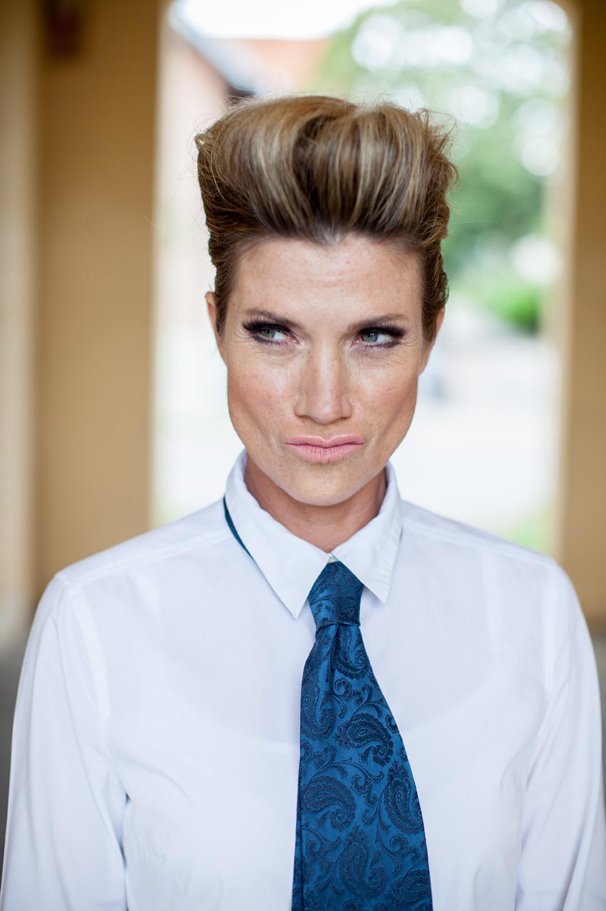Makeup & Hairstyling Astrid M. Fünderich | Fotograf Henrik Pfeifer
