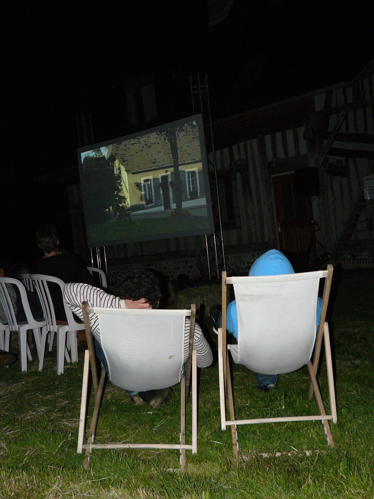 Festival Les Fimeurs - Projection en plein air