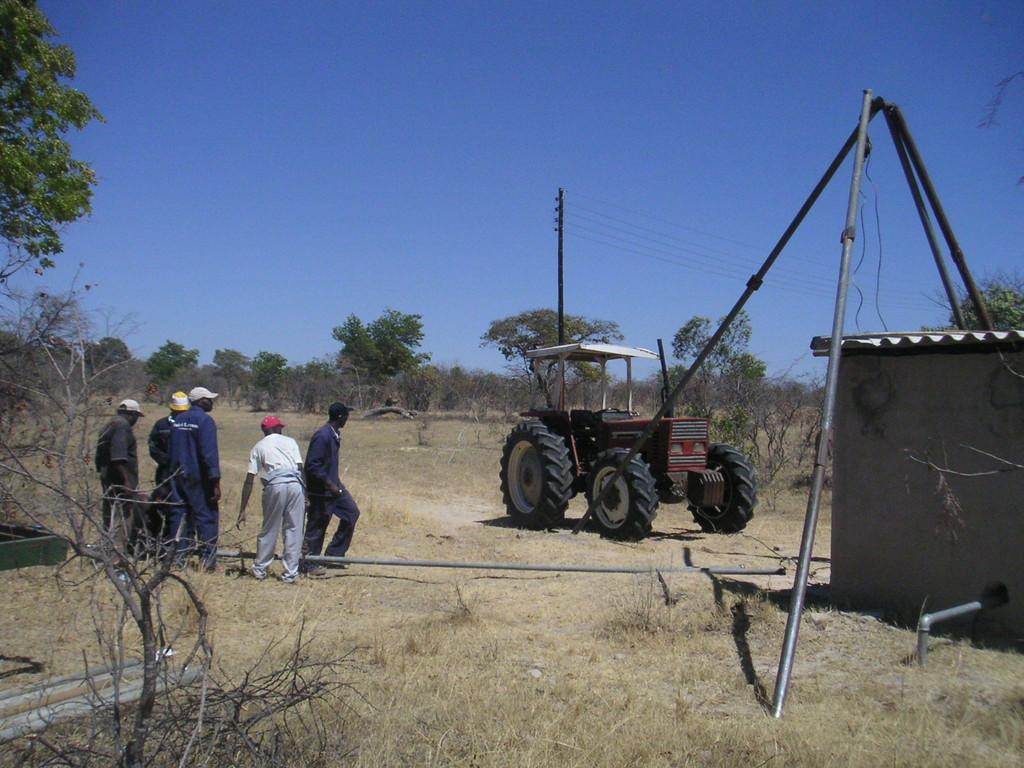 Il pozzo dell'acqua - ZIMBABWE 2006