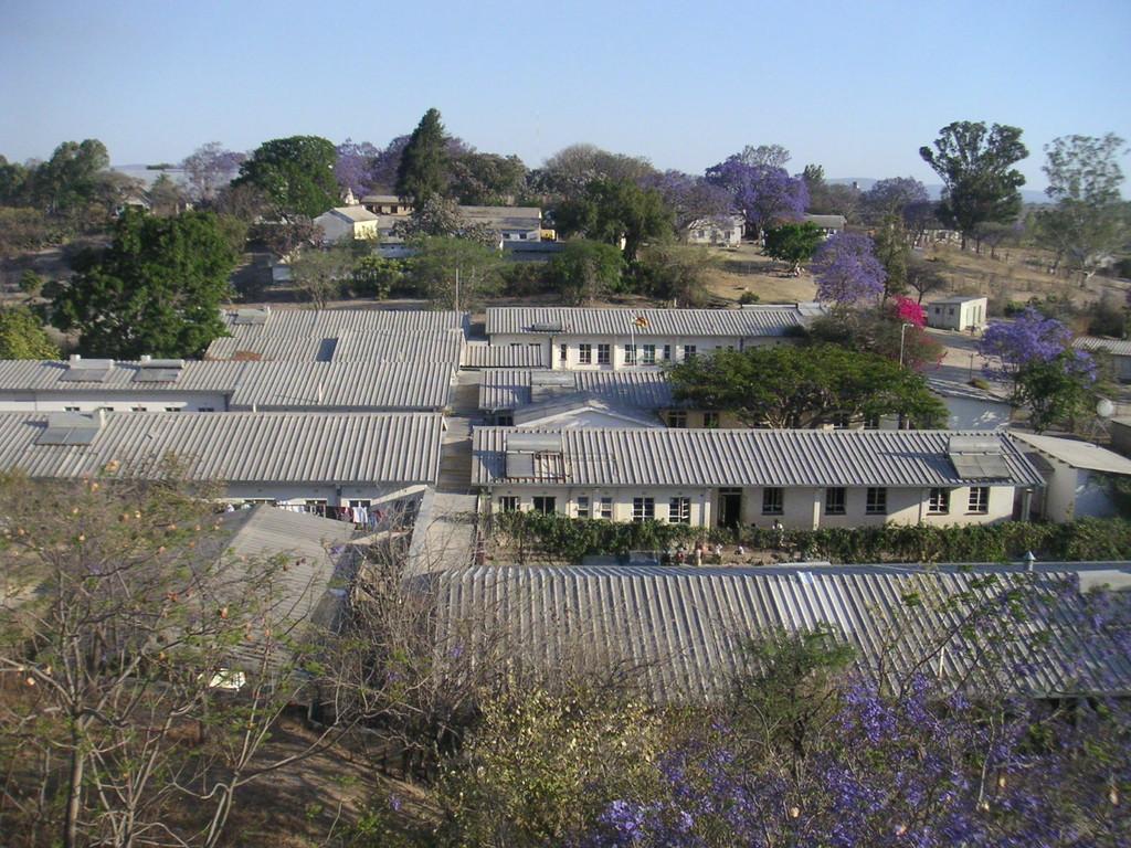Panoramica dell'Ospedale di S.Michael - ZIMBABWE 2006