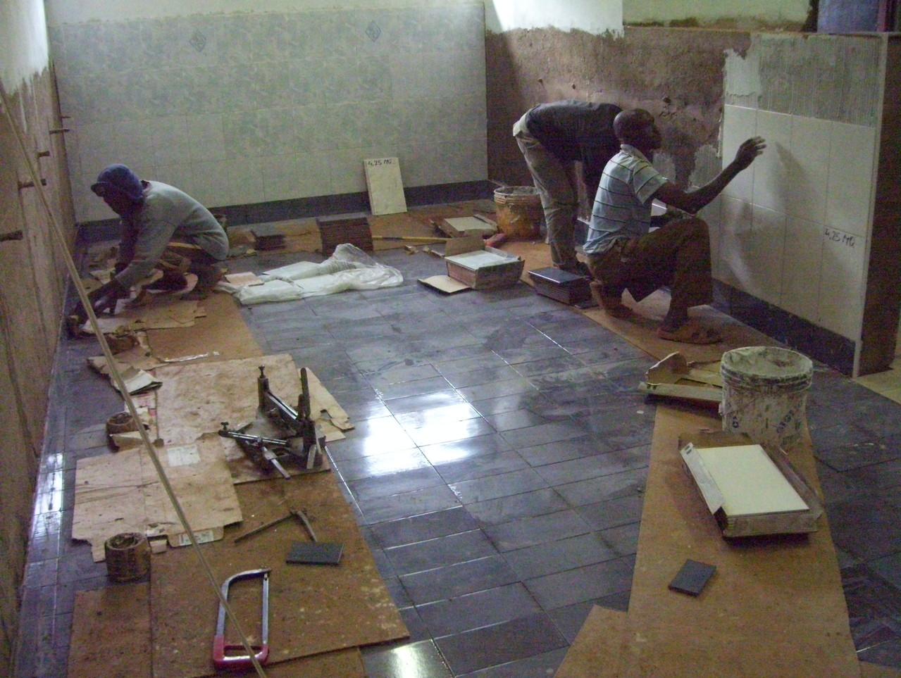 2012 - I lavori nel bagno
