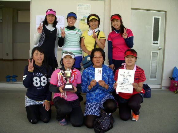 H29 女子優勝 プレステA