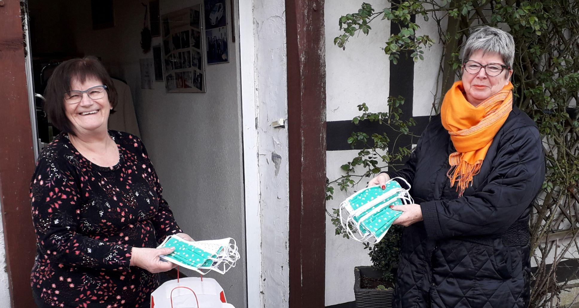 Kyffhäuserfrauen nähen Behelfsmasken: Spende geht an das Dialysezentrum