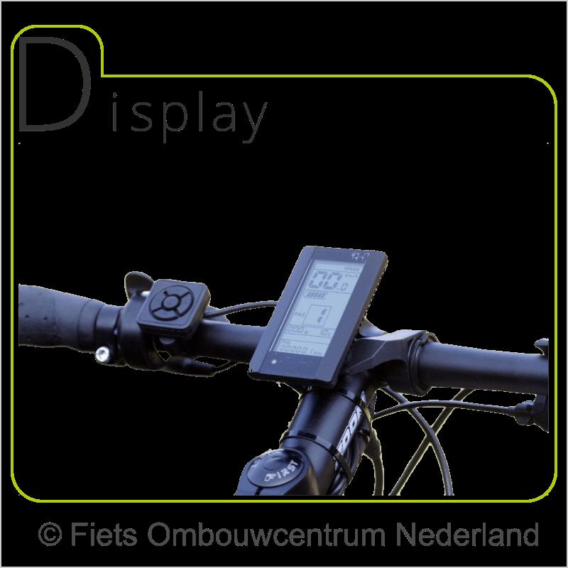 FON 8fun middenmotor ombouwset elektrische fiets lcd1
