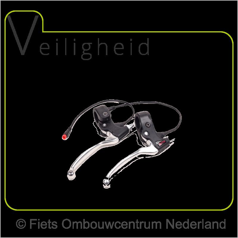 FON 8fun middenmotor ombouwset elektrische fiets remhendels